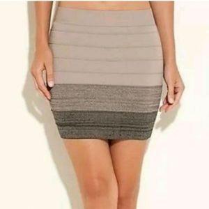 ❣movingSALE❣⭐NEW⭐ Guess - Bandage Mini Ombre Skirt